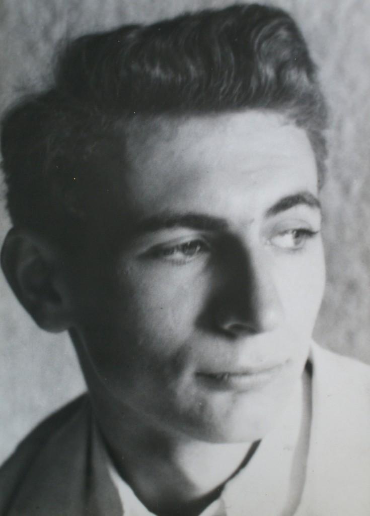 Photo of Bernard Perlin by Stephen Storm, 1937