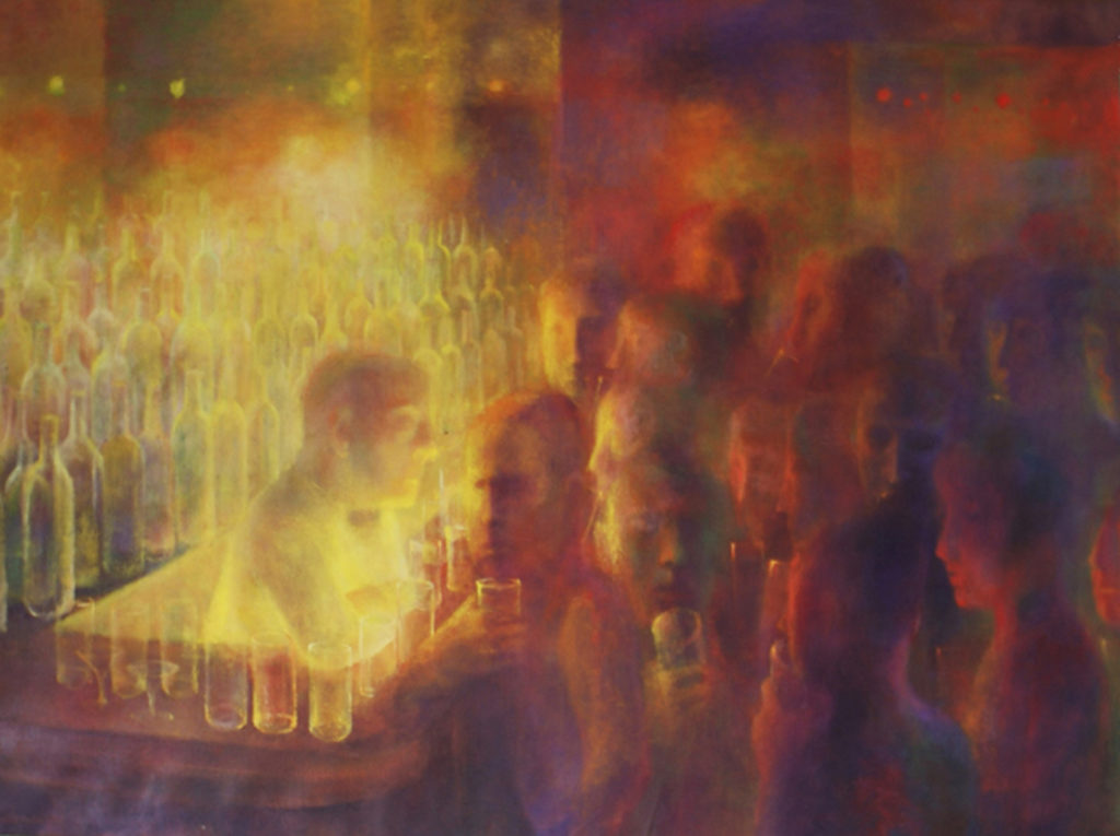 The Bartender by Bernard Perlin