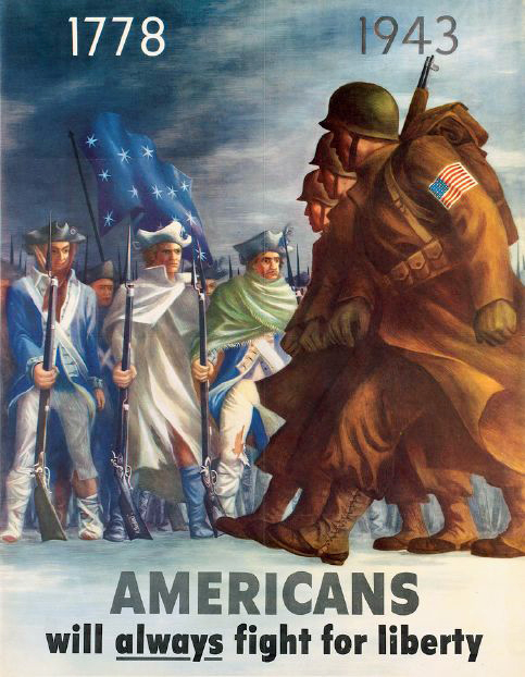 Americans Will Always Fight for Liberty (1943)