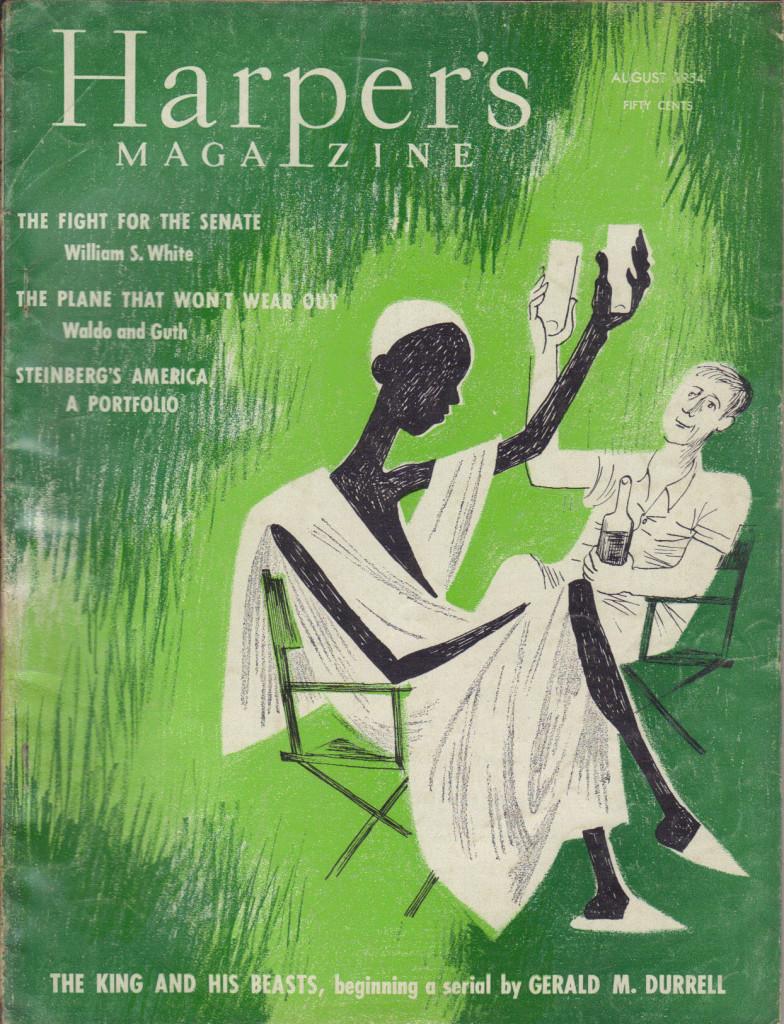 Harper's cover (1954)