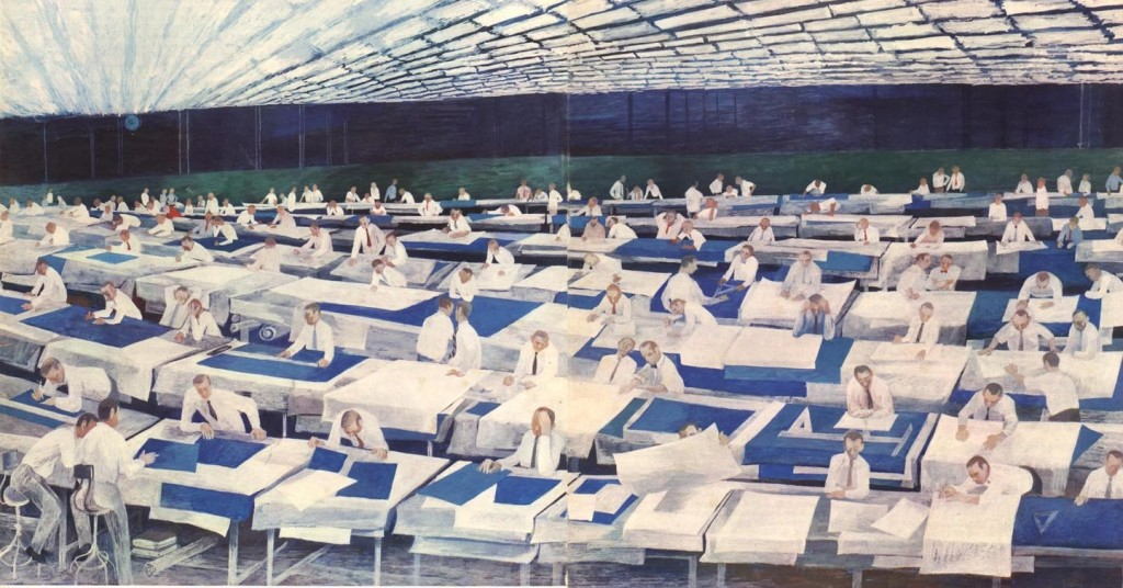Sperry Rand Blueprint Room (1960)