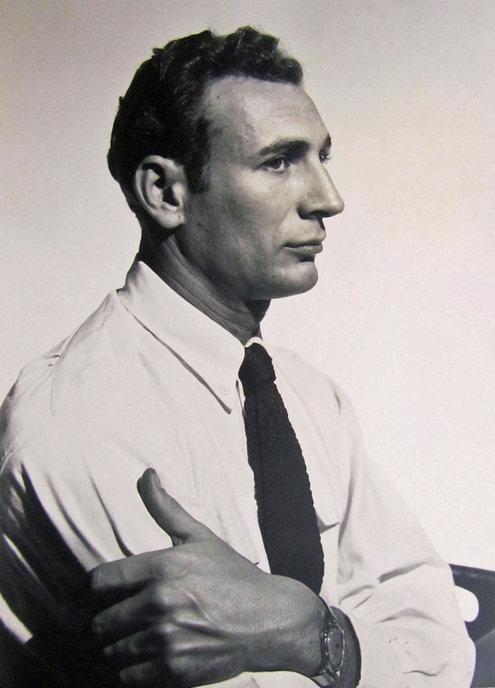 Bernard Perlin in 1949. Photo by George Platt Lynes.